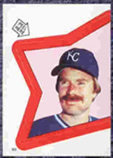 1983 Topps Baseball Stickers     165     Dan Quisenberry