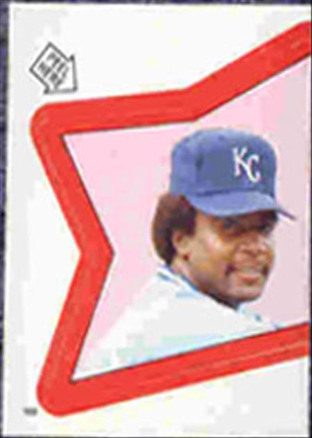 1983 Topps Baseball Stickers     169     Frank White