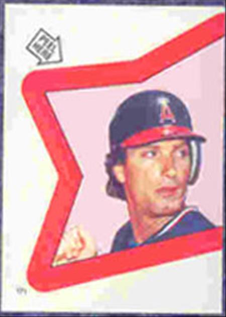1983 Topps Baseball Stickers     171     Doug DeCinces