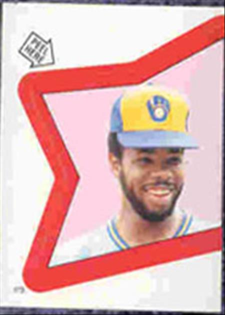 1983 Topps Baseball Stickers     173     Cecil Cooper