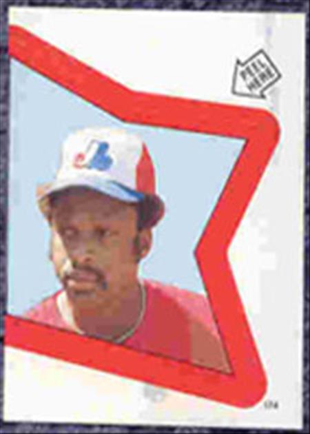 1983 Topps Baseball Stickers     174     Al Oliver