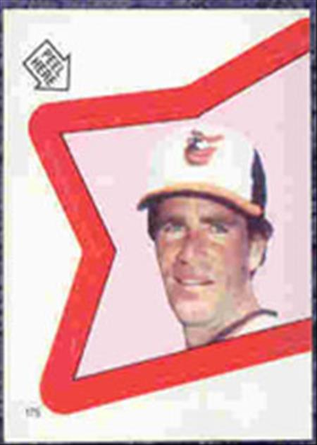 1983 Topps Baseball Stickers     175     Jim Palmer