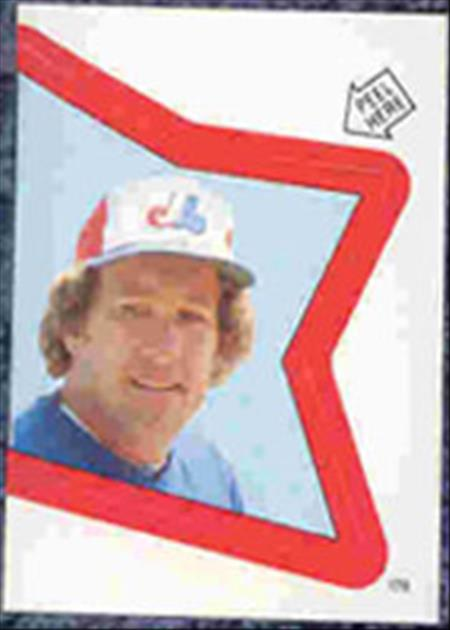 1983 Topps Baseball Stickers     178     Gary Carter