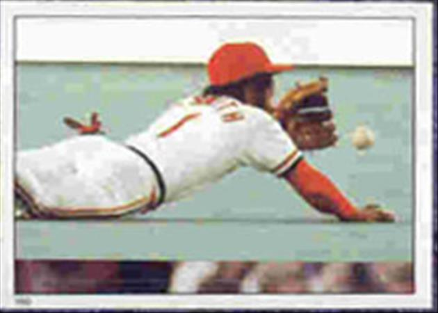 1983 Topps Baseball Stickers     180     Ozzie Smith WS
