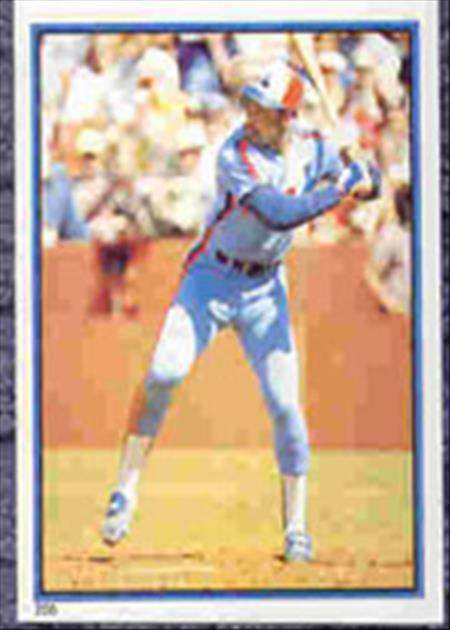 1983 Topps Baseball Stickers     205     Al Oliver