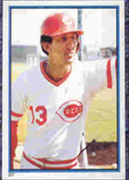 1983 Topps Baseball Stickers     227     Dave Concepcion