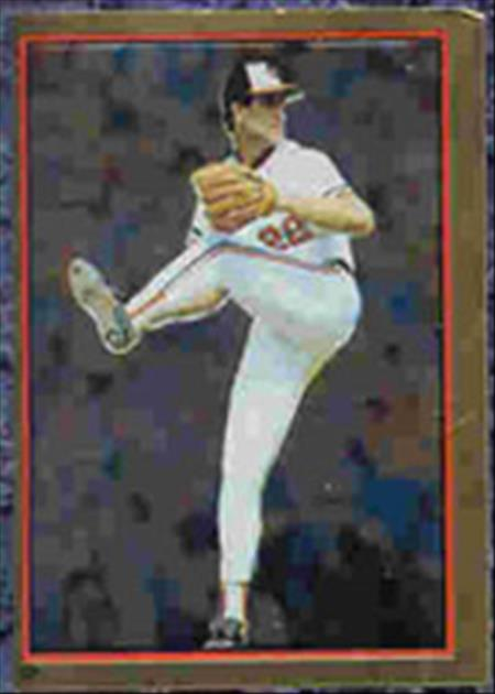 1983 Topps Baseball Stickers     023      Jim Palmer FOIL