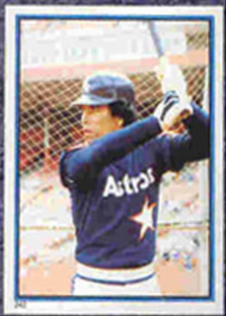1983 Topps Baseball Stickers     242     Jose Cruz
