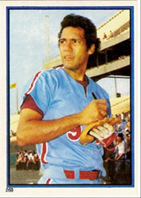 1983 Topps Baseball Stickers     268     Manny Trillo
