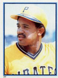 1983 Topps Baseball Stickers     281     Tony Pena
