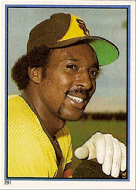 1983 Topps Baseball Stickers     291     Garry Templeton