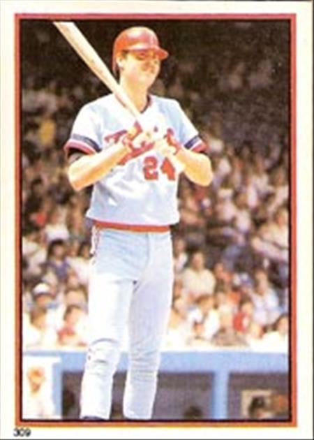 1983 Topps Baseball Stickers     309     Tom Brunansky