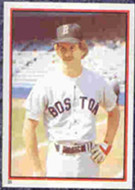 1983 Topps Baseball Stickers     035      Dave Stapleton