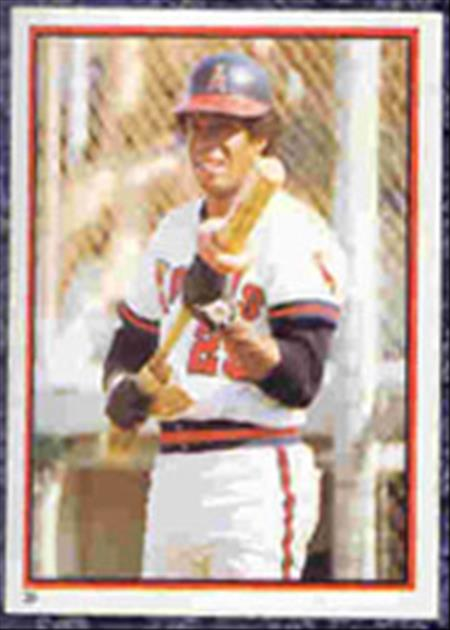 1983 Topps Baseball Stickers     039      Rod Carew