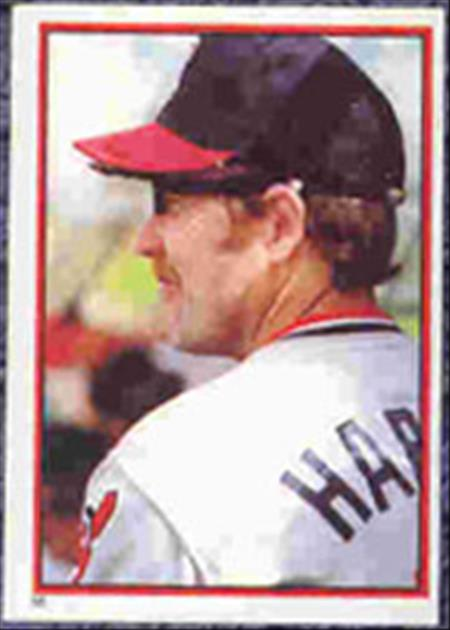 1983 Topps Baseball Stickers     058      Toby Harrah