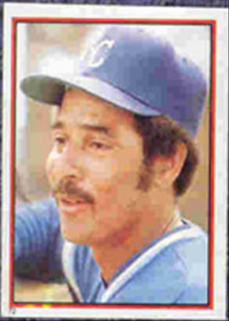1983 Topps Baseball Stickers     072      Amos Otis