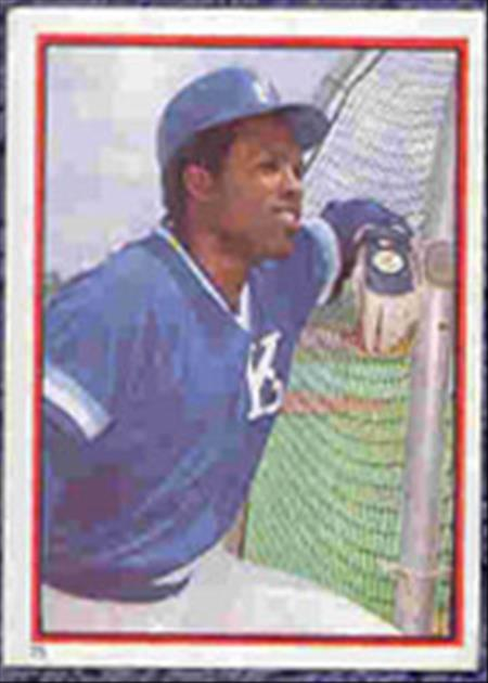 1983 Topps Baseball Stickers     075      Hal McRae