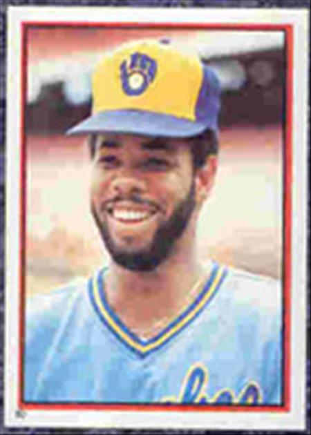 1983 Topps Baseball Stickers     080      Cecil Cooper