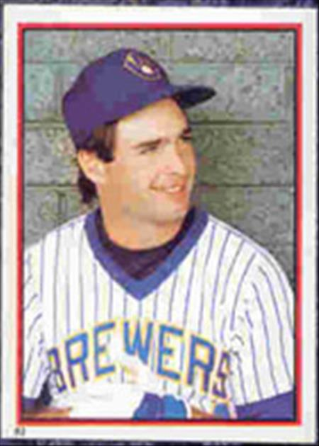 1983 Topps Baseball Stickers     083      Paul Molitor