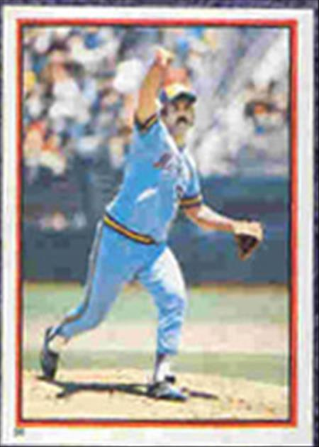 1983 Topps Baseball Stickers     086      Pete Vuckovich