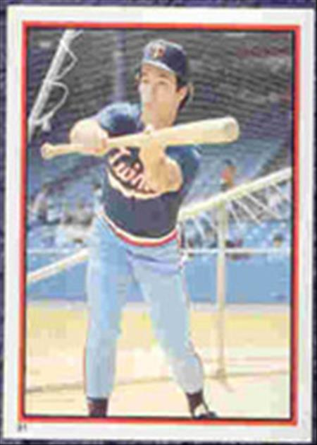 1983 Topps Baseball Stickers     091      Bobby Mitchell