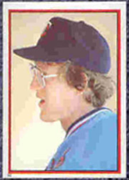 1983 Topps Baseball Stickers     094      Ron Davis