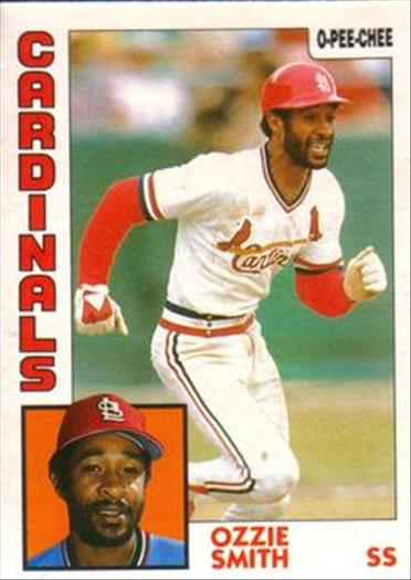 1984 O-Pee-Chee Baseball Cards 130     Ozzie Smith