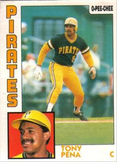 1984 O-Pee-Chee Baseball Cards 152     Tony Pena