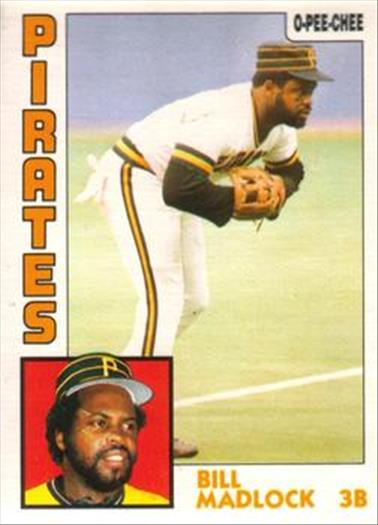 1984 O-Pee-Chee Baseball Cards 250     Bill Madlock