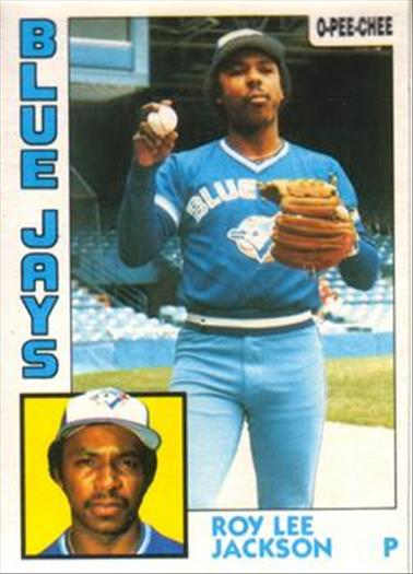 1984 O-Pee-Chee Baseball Cards 339     Roy Lee Jackson