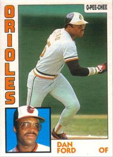 1984 O-Pee-Chee Baseball Cards 349     Dan Ford