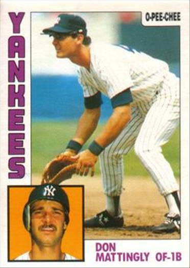 1984 O-Pee-Chee Baseball Cards 008      Don Mattingly RC