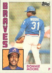 1984 Topps      207     Donnie Moore