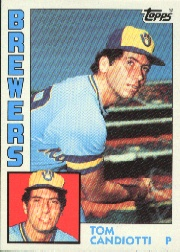 1984 Topps      262     Tom Candiotti RC