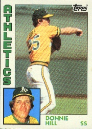 1984 Topps      265     Donnie Hill