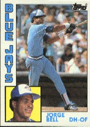 1984 Topps      278     George Bell