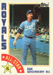1984 Topps      407     Dan Quisenberry AS