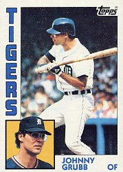 1984 Topps      042      Johnny Grubb