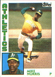 1984 Topps      493     Mike Norris