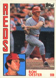 1984 Topps      526     Ron Oester