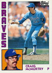 1984 Topps      543     Craig McMurtry