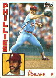 1984 Topps      564     Al Holland
