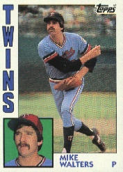 1984 Topps      673     Mike Walters