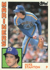1984 Topps      694     Mike Stanton