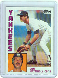 1984 Topps      008      Don Mattingly RC