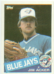 1985 Topps Baseball Cards      101     Jim Acker
