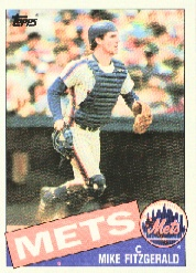 1985 Topps Baseball Cards      104     Mike Fitzgerald