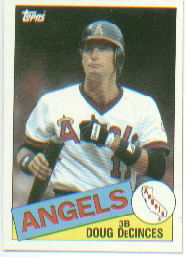 1985 Topps Baseball Cards      111     Doug DeCinces