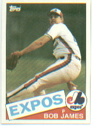 1985 Topps Baseball Cards      114     Bob James