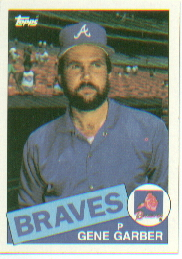 1985 Topps Baseball Cards      129     Gene Garber